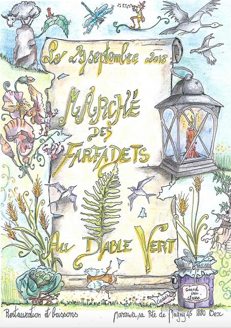 29 septembre 2018, Jardin du Diable Vert, marché des Farfadets