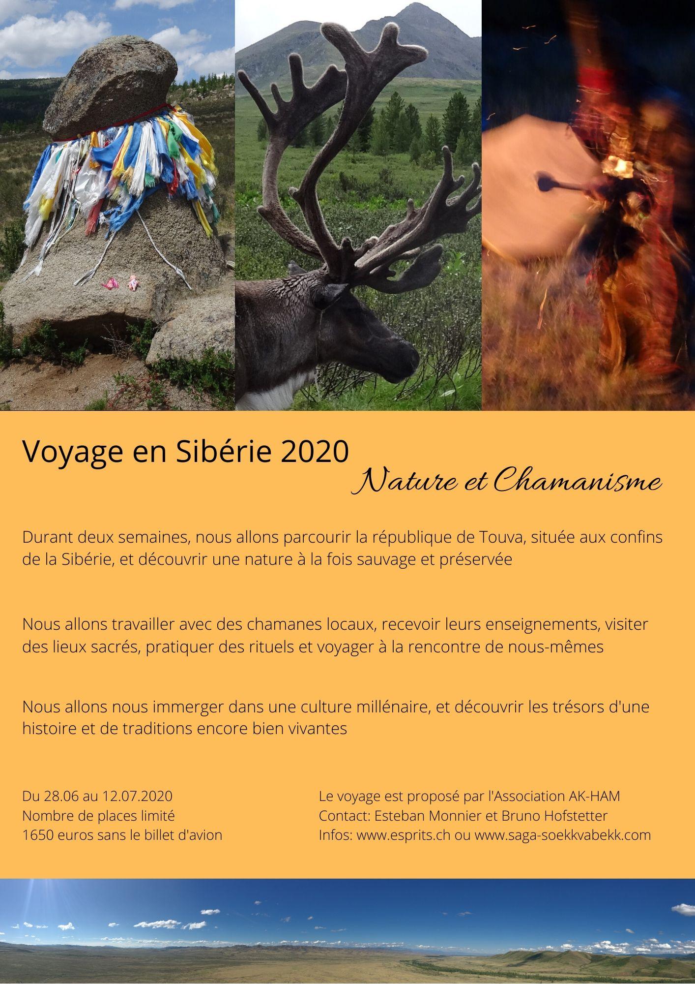 SIBERIE, voyage Touva 2020